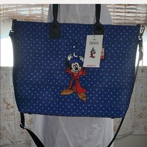 Harveys x Mickey Sorcerer Crossbody / Tote Bag